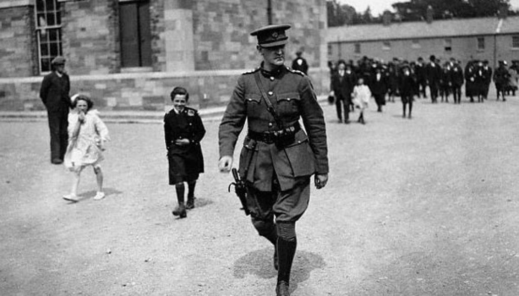 Irish Revolutionary Michael Collins